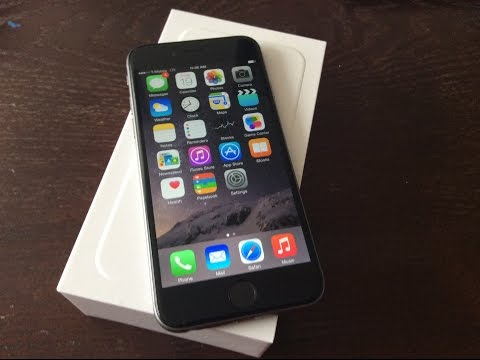 Official Space Grey T-Mobile 128GB iPhone 6 (UNBOXING)