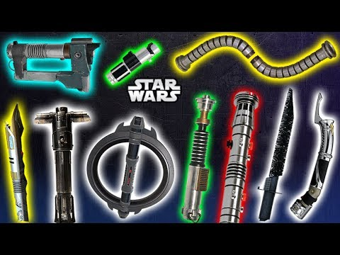 TOP 10 Lightsaber STYLES CANON - Part 2 - Star Wars Explained