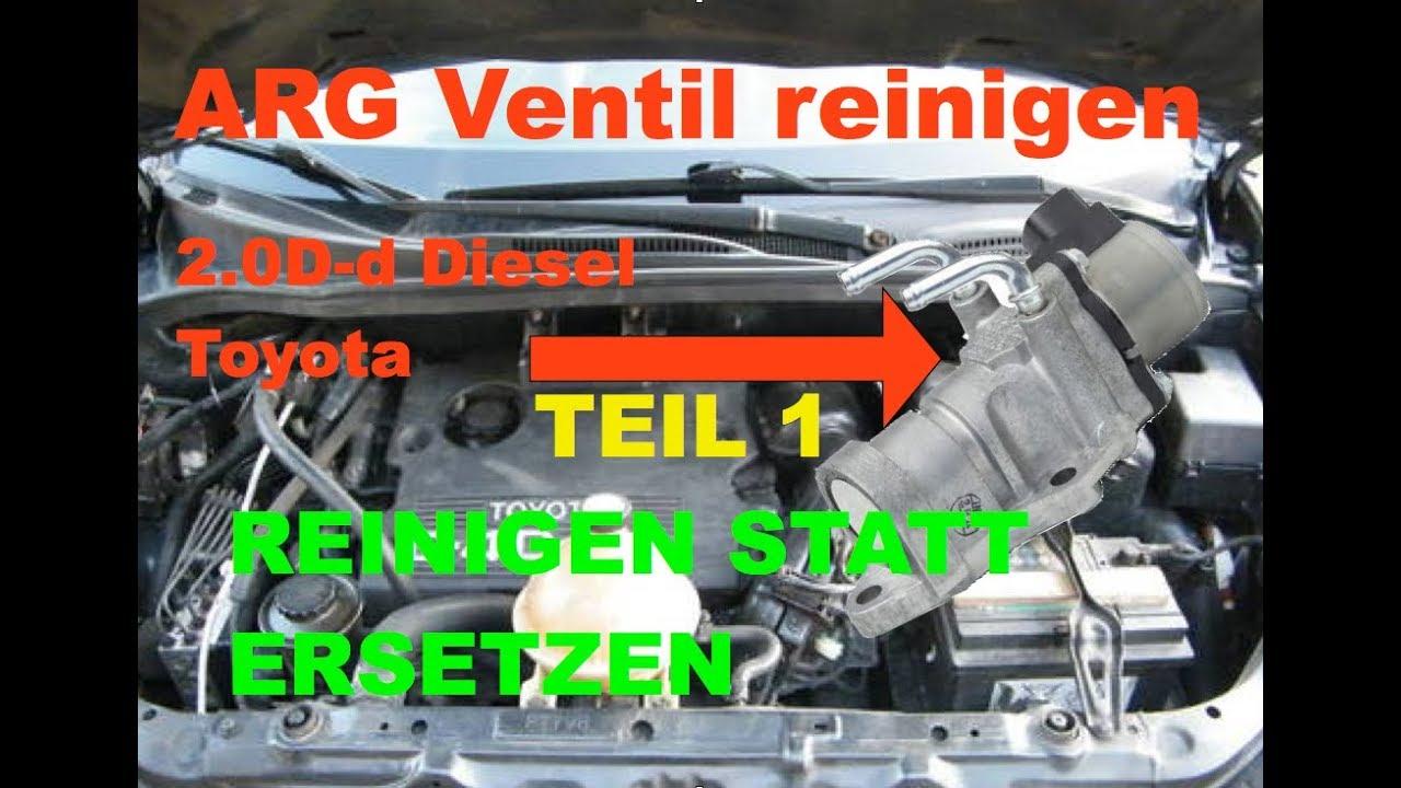 Vanne Egr Toyota Avensis Verso D4d Agr / Egr Toyota Avensis Verso