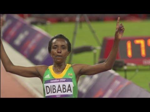 Women's 10,000m Final - London 2012 Olympics