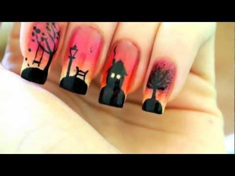 Welcome Autumn ! -  Autumn nail art