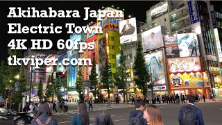 Akihabara Japan ??? Walk - Electric Town Manga Anime Fandom Maid Cafe in 4K 60fps by tkviper.com