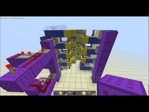 Minecraft Tutorial: Smooth Up and Down going Elevator ...