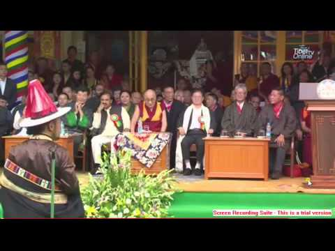 Tibetan song thank you Dalai Lama by Jamyang Tashi