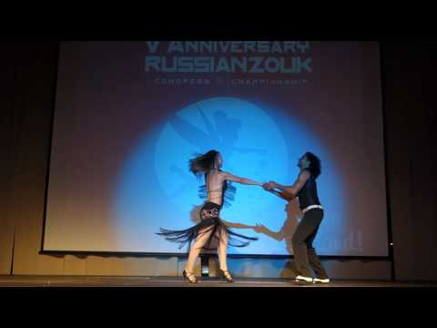 00079 RZCC2016 Masha and Wakko D'Oliveira in performance ~ video by Zouk Soul