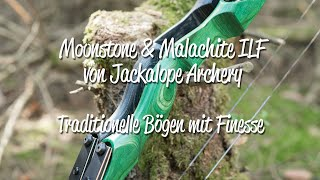 Review: Jackalope Moonstone & Malachite ILF Take Down Recurvebogen