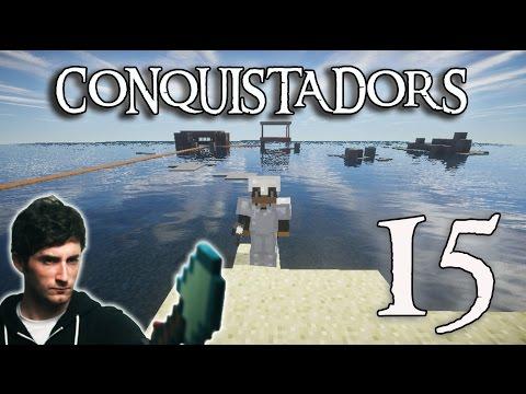 ACORRALADO Y...!! E.15 Conquistadors, Hardcore Survival - [LuzuGames]