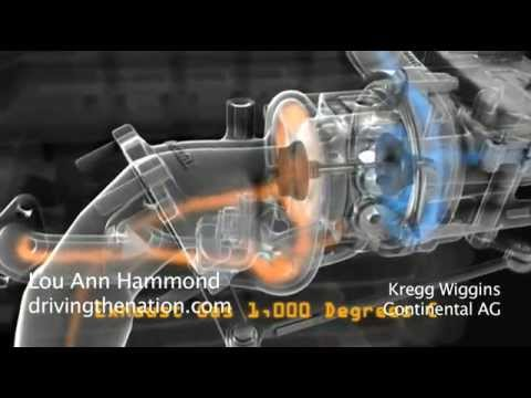 3-cylinder, 1-liter turbocharger from Continental on Driving the Nation