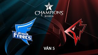 [18.08.2018] Afreeca vs Griffin [LCK Hè 2018][Playoffs][Ván 5]