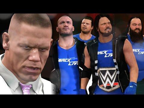 WWE 2K17 Story - SMACKDOWN INVADES RAW! (Cena Story)