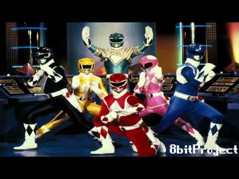 [8 BITS] Power Ranger Theme (GO GO POWER RANGERS)