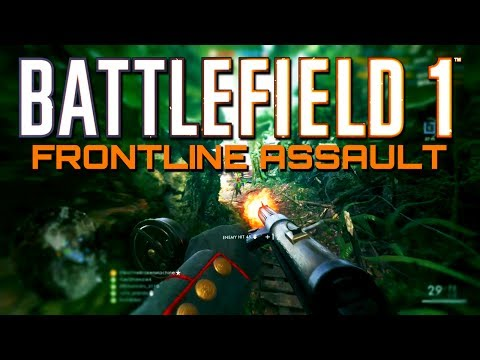 Battlefield 1: Aggressive Assault on Argonne Frontlines (PS4 PRO Gameplay)