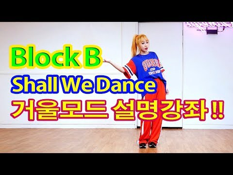 Tutorial Mirrored 블락비 Block B - Shall We Dance 거울모드 설명강좌 WAVEYA
