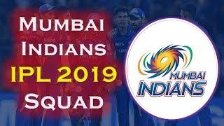IPL 2019 Mumbai Indians Team Squad | Indian Premium League 2019 | Mumbai Probable Squad IPL 2019