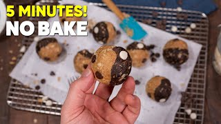 The Best No Bake Protein Energy Balls Ever