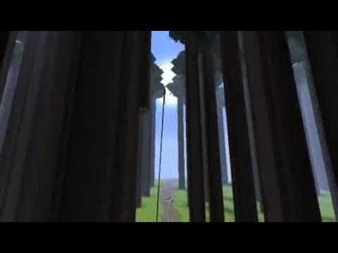 進撃の巨人に出てくる巨大樹の森を立体起動MODで飛んでみた 【Minecraft】