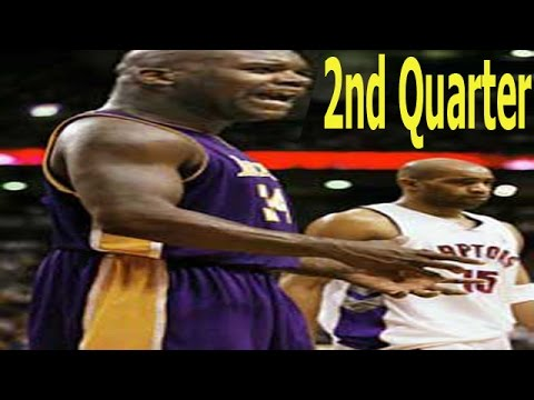 Basketball Live 98 LA Lakers VS Toronto Raptors 2nd Quarter