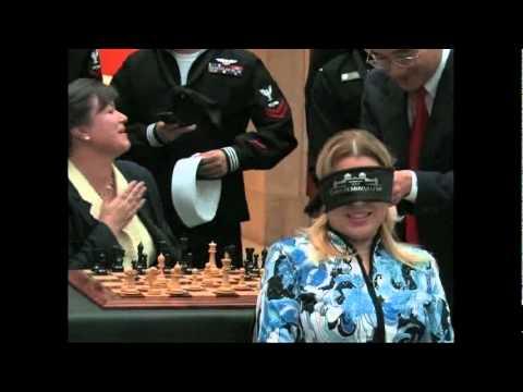 Susan Polgar: blindfold & simul
