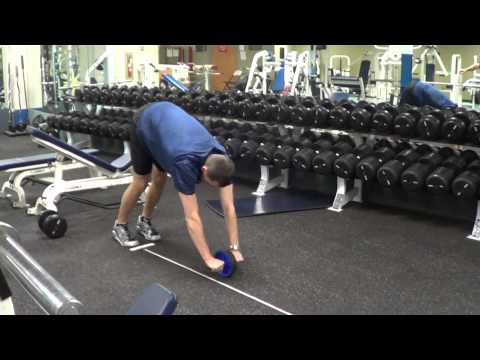 "Standing Ab-Rollout - 7'2"" full extension - Mount Multis - Decathlon Training"
