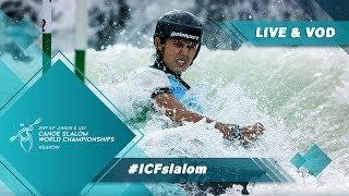 2019 ICF Canoe Slalom Junior & U23 World Championships Krakow / Jnr – Heats C1w, K1m; Final C2mx