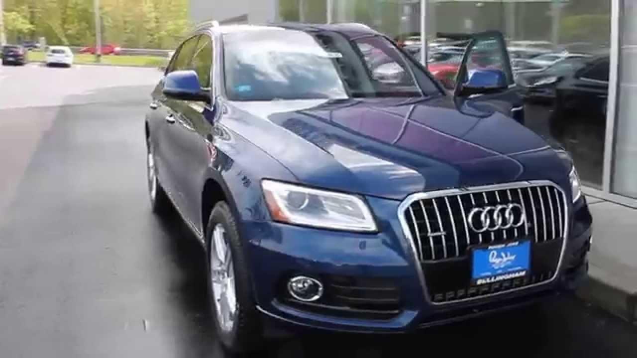 2015 Audi Q5 Blue 200 Interior And Exterior Images