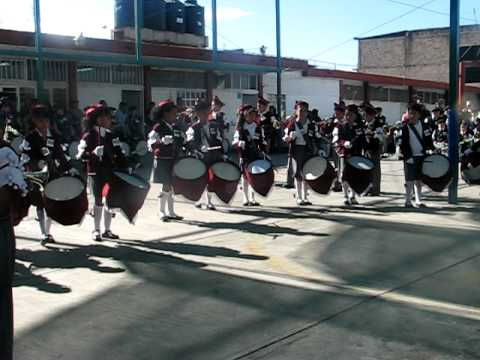 Banda de Guerra de la Escuela Quetzalcóatl: Escuela Calmecac