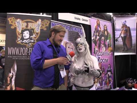 Freddie Nova au Pheonix ComicCon 2013