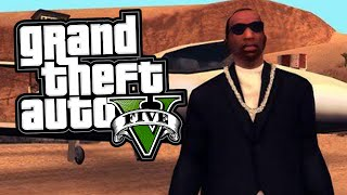 "TOP 5 BEST ""CJ"" CARL JOHNSON EASTER EGGS IN GTA 5! (GTA V)"