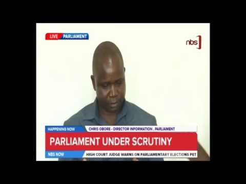 Chris Obore Reacts To Pigs Dropped At Parliament