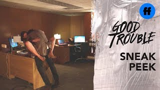 Good Trouble Season 2, Episode 2 | Sneak Peek: Hooking Up at Work | Freeform