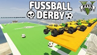 GTA 5 FUSSBALL MONSTER TRUCK DERBY