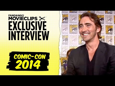 Cate Blanchett & Lee Pace 'The Hobbit: The Battle of the Five Armies' Interview: SDCC (2014) HD