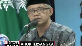Organisasi Islam di Indonesia menyambut baik keputusan POLRI terhadap Ahok - iNews Malam 16/11