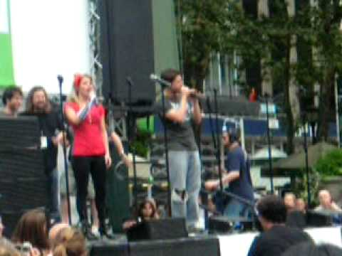 Broadway In Bryant Park: Rock Of Ages: High Enough