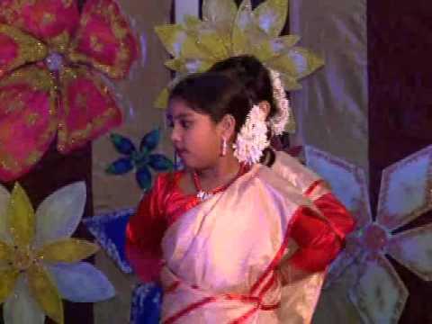 Assam Bihu Folk Dance Performed By Iis Students In 2012 video