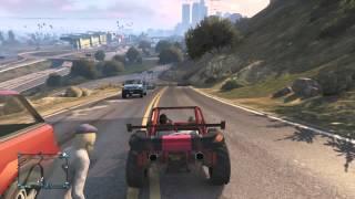 GTA 5 Online - 3D TV Stunt
