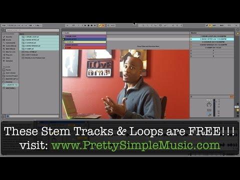FREE Gospel Clicks, Loops, & Stem Tracks + Ableton Live Demo