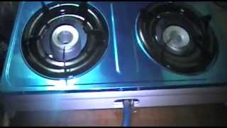 How to Install Gas Stove
