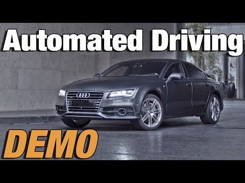 ► Audi's automatic driving for parking