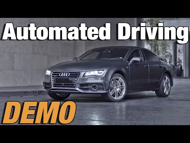Audi's automated driving for parking - YouTube