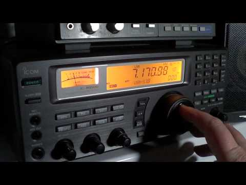 40 meters amateur radio band scan 0120 UT
