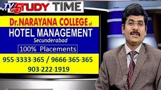 Dr. Narayana College Of Hotel Management   Study Time