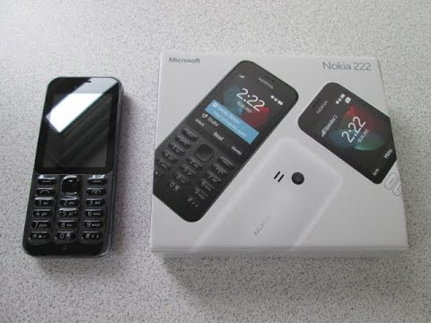 Nokia 222 Mobile Phone Cell Phone Review, New Microsoft Nokia 2015