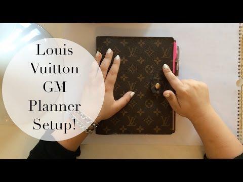 Louis Vuitton Agenda GM | Planner Setup, Review + Bullet Journal