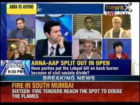 India Debate: Will the Anna-AAP spat weaken the Lokpal fight? klip izle
