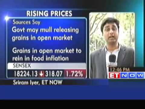 Govt may Release Gains in Open Market to Rein Food Inflation