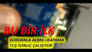 SAMSUNG N150 PLUS ACMA KAPAMA DÜGMESİN POWER SWİCTH