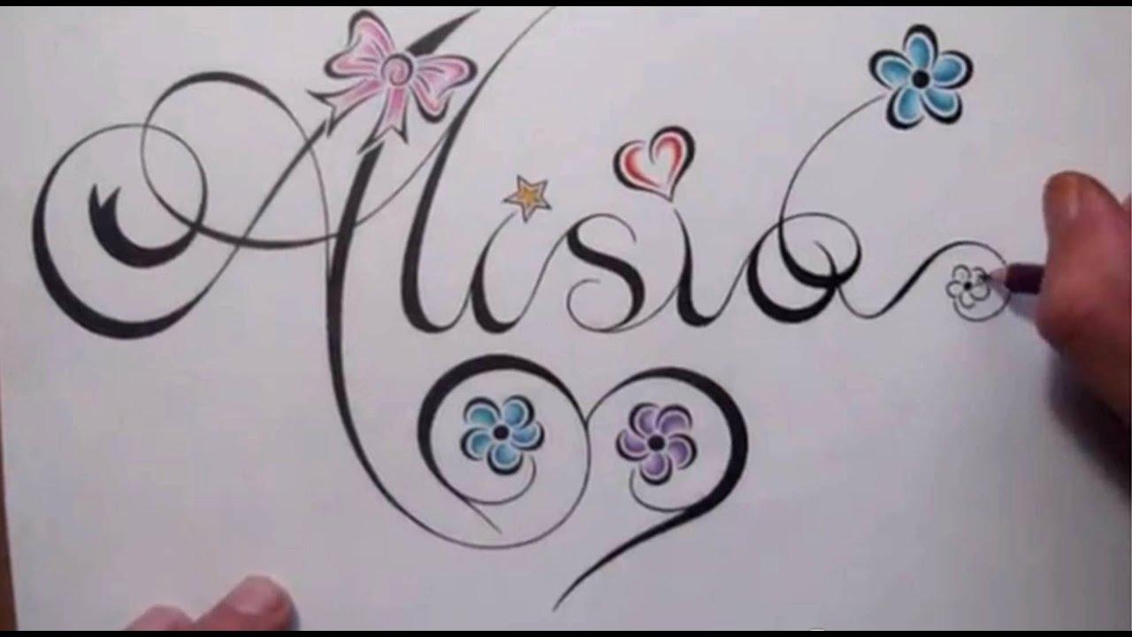 write my name in cursive