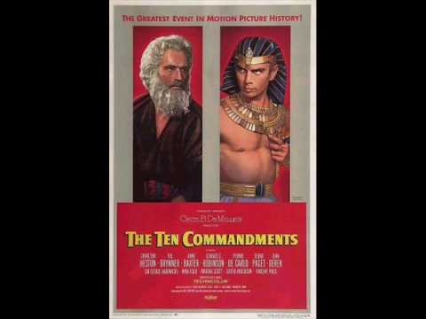 The Ten Commandments - The Exodus Scene - Soundtrack - Elmer Bernstein video