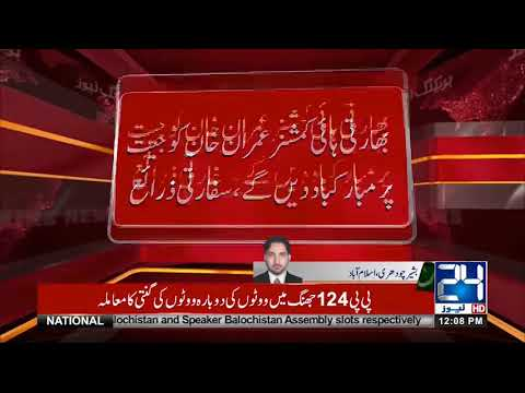 Indian High Commissioner Ajay Bisaria To Meet Imran Khan Today | 24 News HD
